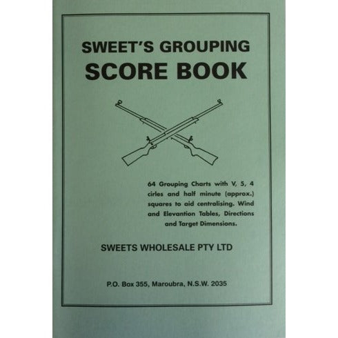 Sweet's Grouping Score Book