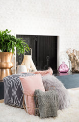 Decorating with Pink - cushions