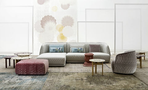 Atelier Lane | Designer Furniture - Quilted sofa