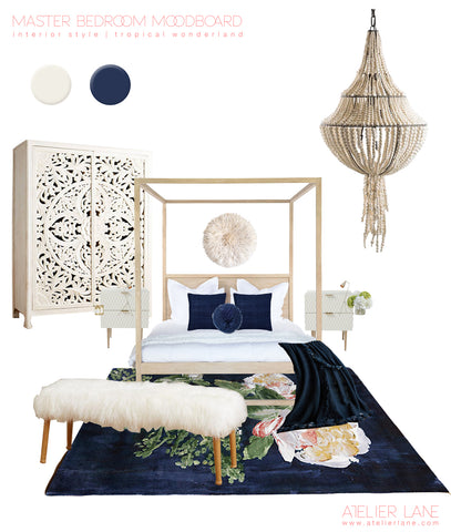 Mood Board - Master bedroom Copyright Atelier Lane Pty Ltd 2016