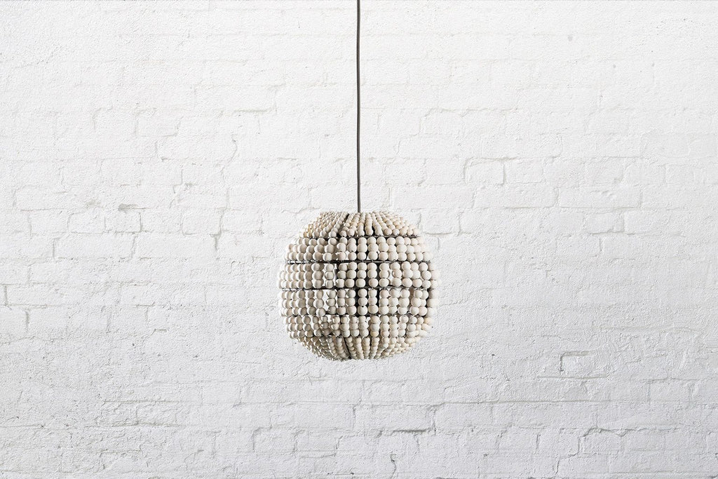SPHERE CLAY BEADED PENDANT - ATELIER LANE | interior design hong kong | designer homewares australia