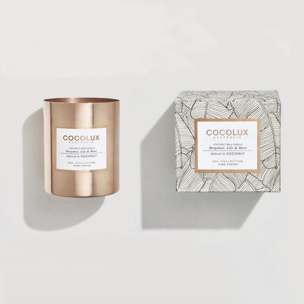 Bergamot, Lily & Moss infused in Coconut - ATELIER LANE | interior design hong kong | designer homewares australia