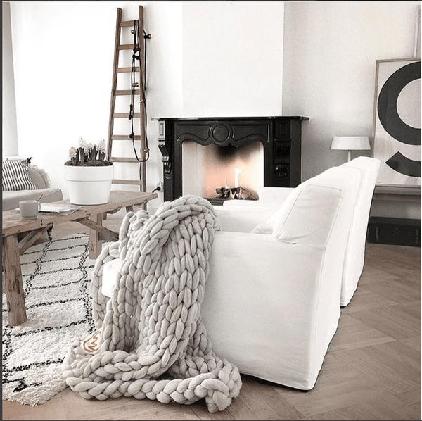 Chunky Knit Throws | Atelier Lane Hong Kong