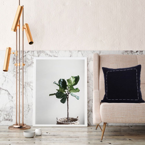 fiddle leaf fig artwork | atelier lane