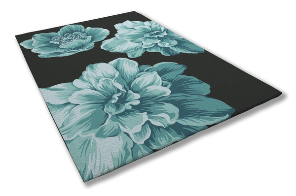 GRAPHIC BLOOM DESIGNER RUG SYDNEY & HONG KONG - ATELIER LANE