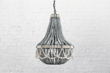 FRILL CLAY BEADED CHANDELIER - ATELIER LANE | interior design hong kong | designer homewares australia