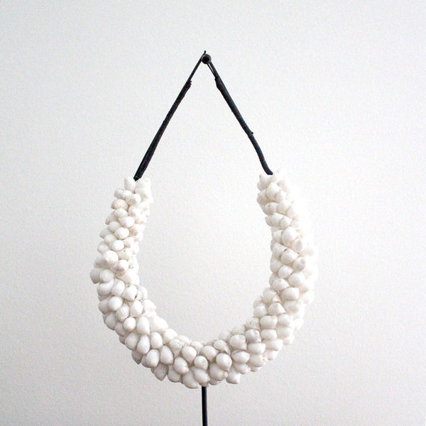 DECORATIVE SHELL NECKLACE | WHITE - ATELIER LANE | interior design hong kong | designer homewares australia