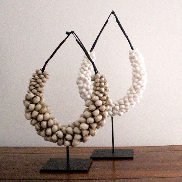 DECORATIVE SHELL NECKLACE | BROWN - ATELIER LANE | interior design hong kong | designer homewares australia