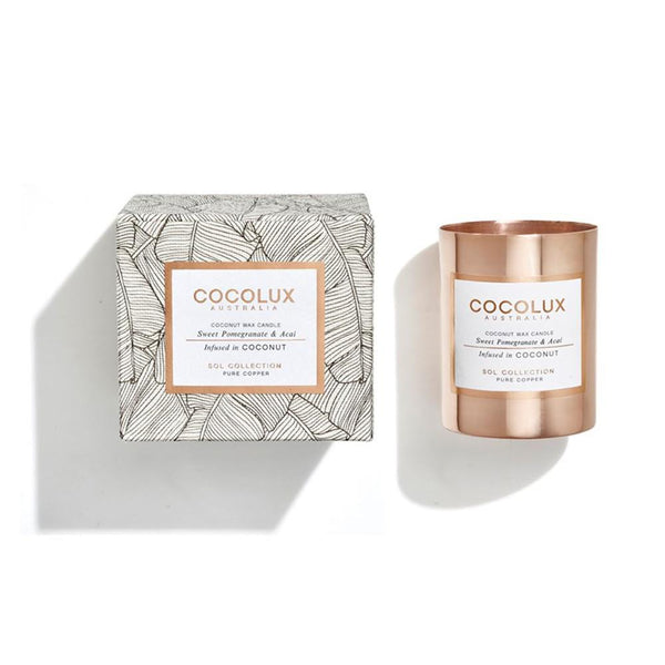 COCOLUX CANDLES | Sweet Pomegranate & Acai