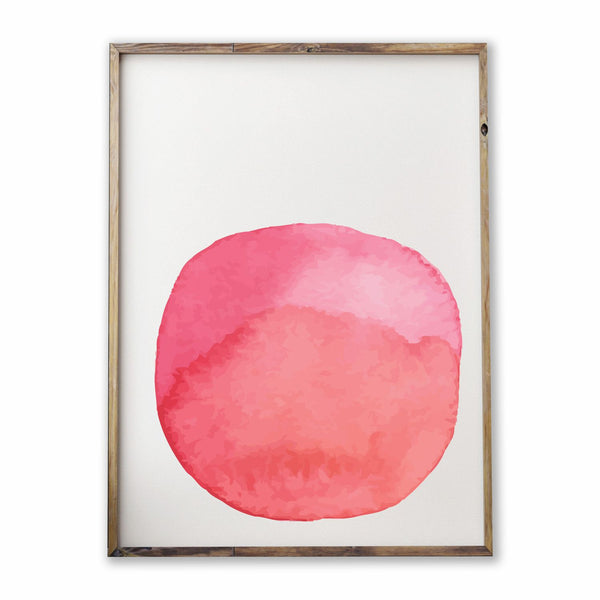 WATERCOLOUR SPOT | PINK - ATELIER LANE | interior design hong kong | designer homewares australia