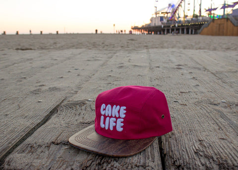 Boardwalk Cake Life 5 Panel Hat