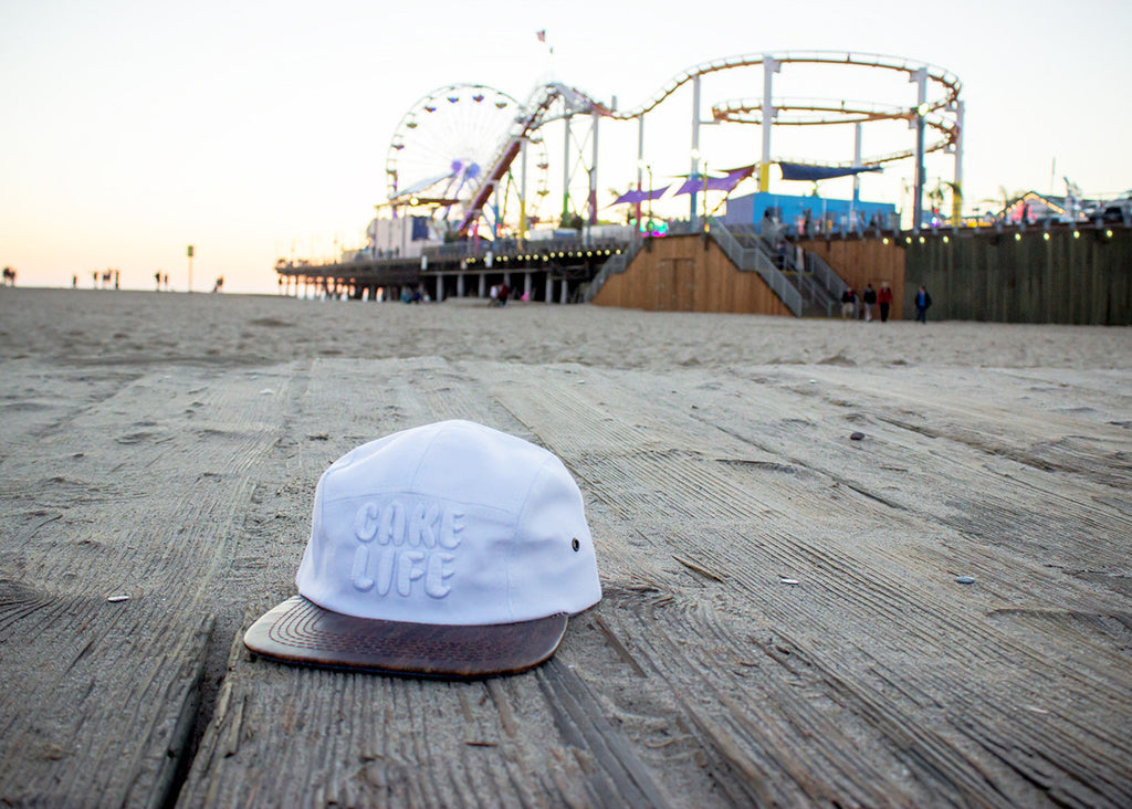 The Cupcake Cartel Cakelife Board Walk 5 Panel Hat