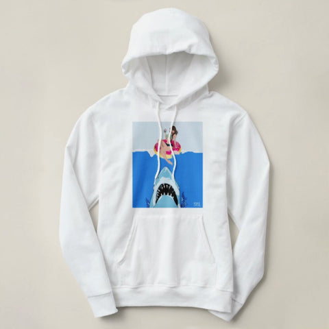 "Cupcake Cartel ""Swim With Sharks"" Logo Hoody"