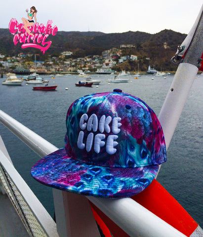 CAKELIFE Peacock Feathers Snapback Hat