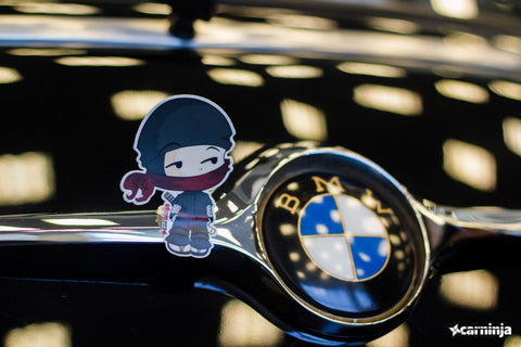 CarNinja Little Ninja Sticker x 3 (original) - Free Shipping
