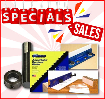 SPECIALS - Bandsaw & Lathe