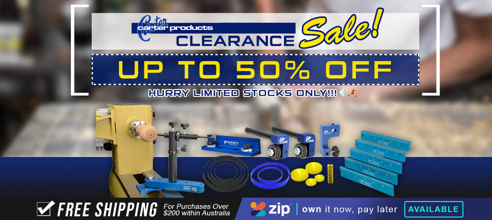 Carter Products Clearance Sale