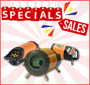 SPECIALS  SALES - Pipe Laser Levels