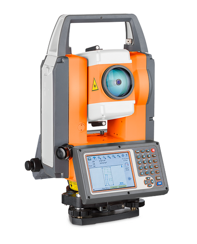 TS FTS 102 + SurvCE - Total Station Reflectorless, Laser Measuring Surveying Geo 1