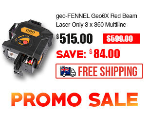 geo-FENNEL Geo6X Red Beam Laser