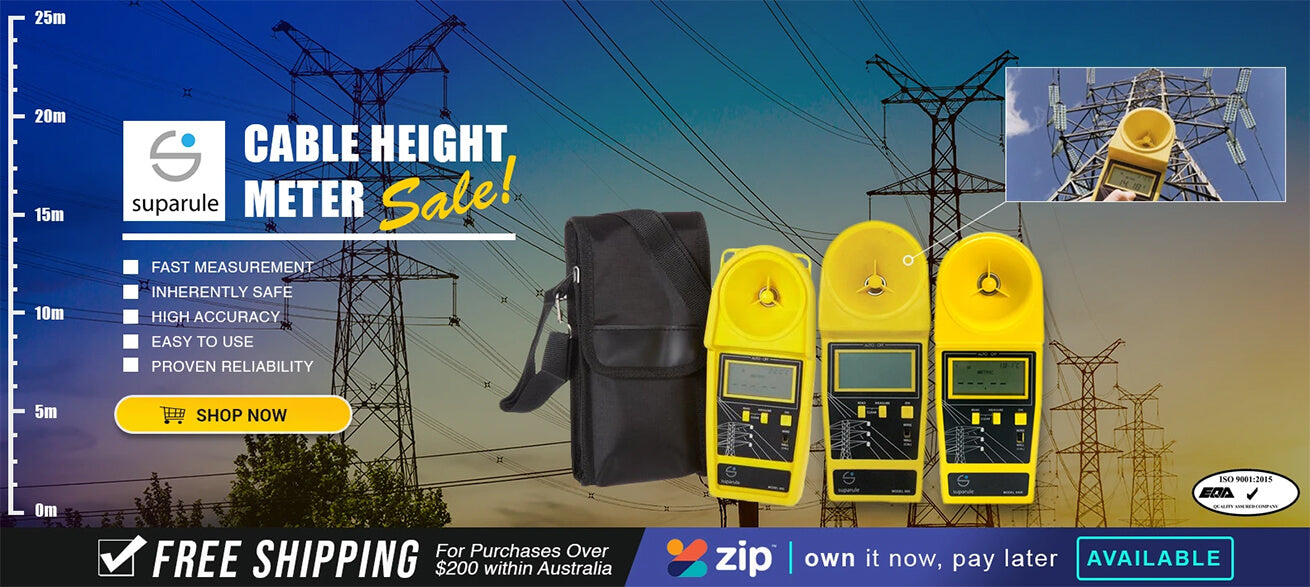 Suparule Cable Height Meter Sale!