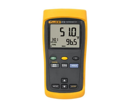Fluke FLUKE-51-2 50HZ Single Input Thermometer (intl Version)