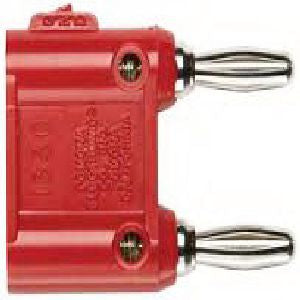 Fluke Pomona Double Banana Plug (red) - 1632043