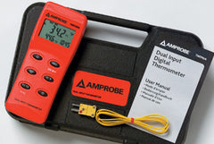Fluke Amprobe TMD90A Dual Input Thermometer W Triple Display - 2817797