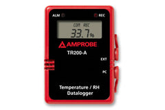 Fluke TR200-A Temperature/RH Data Logger W/ Digital Display