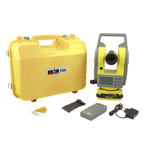 "Bear 5"" Digital Theodolite with Laser Pointer, Angle Measuring Theodolite"