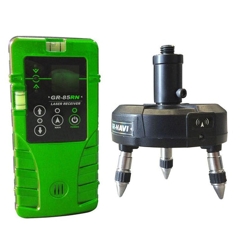 Bear Navi Base & Receiver for Green Beam Line Laser Levels