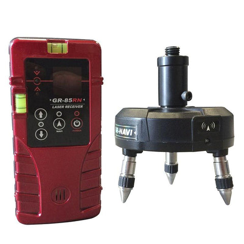 Bear Navi Base & Receiver for Red Beam Line Lasers Levels