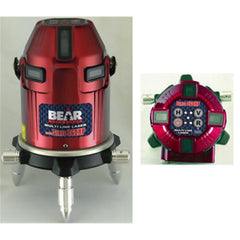 Bear Servo 360HP Multi Line Laser Level, Red Beam Laser Level