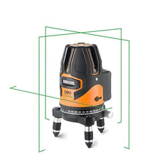Geo Fennel FLG 64-GREEN HP, Cross Laser Level, Line Laser, Dot Laser, Multi Line Laser Tools