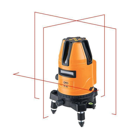 Geo Fennel FL 63 Cross Laser Level, Line Laser, Multi Line, Laser Tools, Cross Line Laser