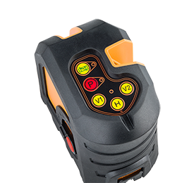 Geo Fennel Geo3X HP, Cross Laser Level, Line Laser, Dot Laser, Laser Tool, Multi Line Laser