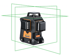 Geo Fennel Geo6X SP GREEN KIT  3 x 360 Multi Line Laser Level, Laser Tools