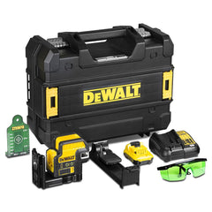 Dewalt DCE0822D1G-XE 10.8V Green Crossline Laser with Spot Kit