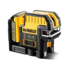 Dewalt DCE0822D1G-XE 10.8V Green Crossline Laser with Spot Kit, Cross Laser Level