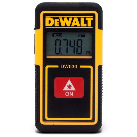 Dewalt DW030PL-XJ 9 Metre Pocket Laser Distance Measure