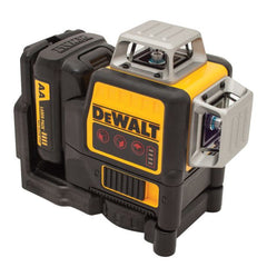 Dewalt Multi Line Laser Level 3x360 Red Beams DCE089LRXJ