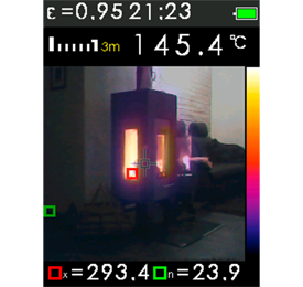 Geo Fennel FTI 300 Thermal Imaging Camera, Temperature Measurement