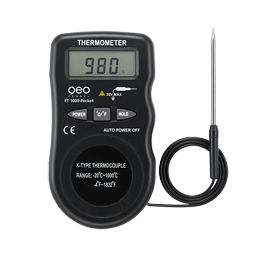 Geo Fennel FT 1000 Pocket Digital Thermometer, Temperature Measurement Probe