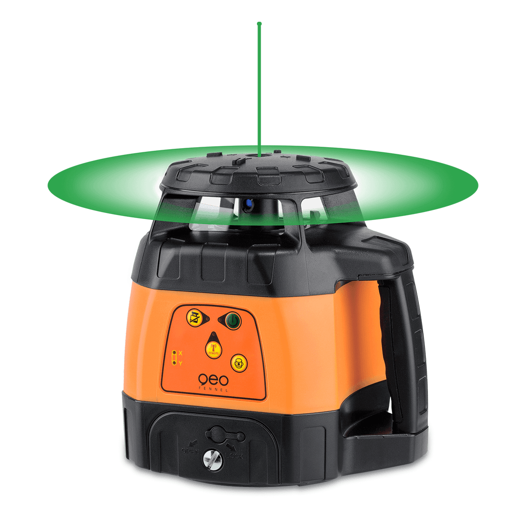 geo-FENNEL FLG 245HV-GREEN Green Beam Rotating Laser Level Without Laser Receiver