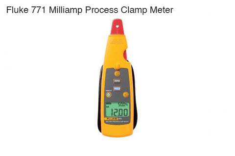 Fluke Milliamp Process Clamp Meter (item no. 2646347, 3362352, 3362365)