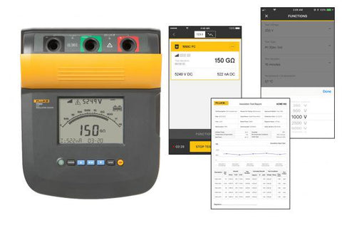 Fluke 1550C/KIT 5kv Insulation Tester Kit