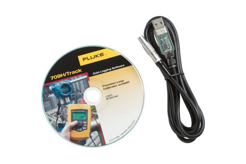 Fluke 709HTRACK 709h Data Logging Software & Cable, Fluke-709h Loop Calibrator