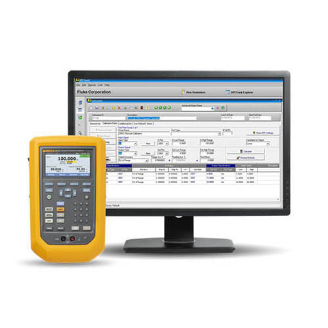 Fluke FLUKE-729/750SW BU729 300g Fc Automatic Pressure Calibrator and DPC Track2 Software Bundle Package