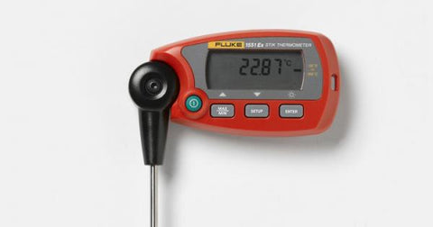 Fluke Thermometer RTD, -80 TO 300C, SHEATHLEN - 4112296