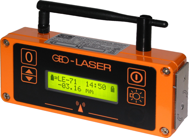 Geo Laser FA-70 Wireless Remote Control for Laser Receivers, Laser Detectors, Waterproof